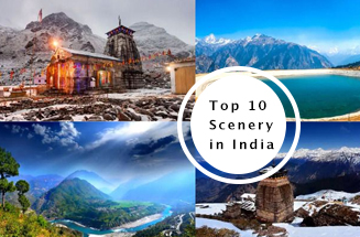 Top 10 Scenary in India